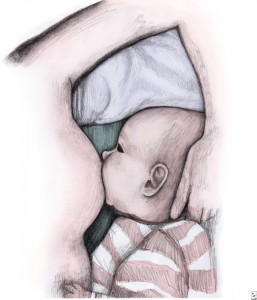 breastfeeding illustration